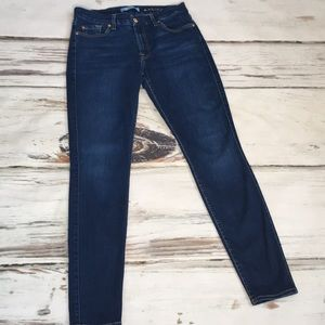 7 For All Mankind Jeans B air Skinny Blue Denim 30